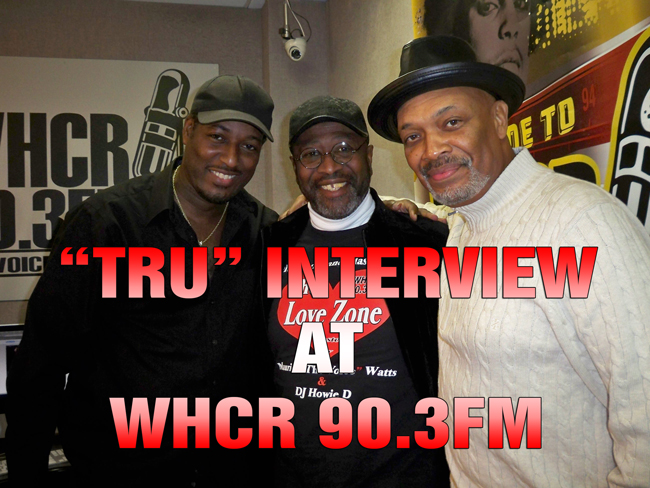 TRU with Maurice THE VOICE Watts on WHCR 90.3FM
