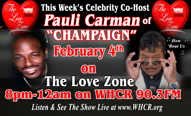 with Celebrity co-host Pauli Carman